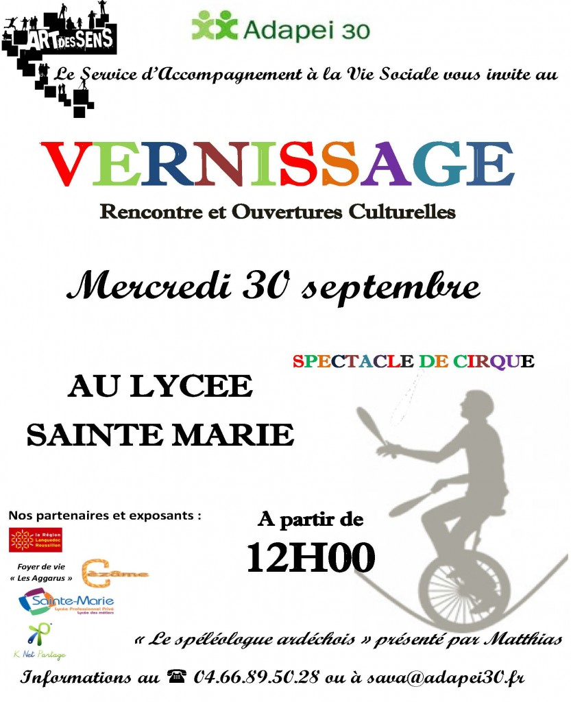 affiche expo sept